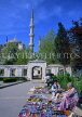 TURKEY, Istanbul, Sultan Ahmet Mosque (Blue Mosque) and street vendors, TUR210JPL
