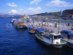 TURKEY, Istanbul, The Bosporus, waterfront by the Ferry Station, TUR128JPL