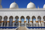 UAE, ABU DHABI, Sheik Zayed Mosque, UAE630JPL