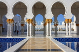 UAE, ABU DHABI, Sheik Zayed Mosque, UAE637JPL