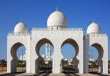 UAE, ABU DHABI, Sheik Zayed Mosque, entrance, UAE662JPL