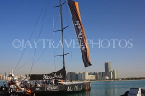UAE, ABU DHABI, sail boat at Volvo Ocean Race, UAE694JPL