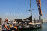 UAE, ABU DHABI, sail boat at Volvo Ocean Race, UAE695JPL