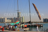 UAE, ABU DHABI, sail boat at Volvo Ocean Race, UAE696JPL