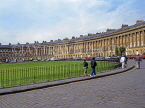 UK, Avon, BATH, Royal Crescent (Georgian architecture), UK5973JPL
