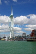 UK, Hampshire, PORTSMOUTH, Gunwharf Quays and Spinnaker Tower, UK6536JPL