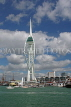 UK, Hampshire, PORTSMOUTH, Gunwharf Quays and Spinnaker Tower, UK6539JPL