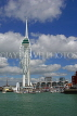 UK, Hampshire, PORTSMOUTH, Gunwharf Quays and Spinnaker Tower, UK6646JPL