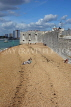 UK, Hampshire, PORTSMOUTH, old city walls and beach, UK6559JPL