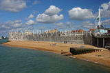 UK, Hampshire, PORTSMOUTH, old city walls and beach, UK6560JPL