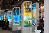 UK, LONDON, ExCel Centre, World Travel Market show, UK31138JPL