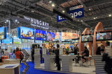 UK, LONDON, ExCel Centre, World Travel Market show, UK31214JPL