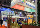 UK, LONDON, ExCel Centre, World Travel Market show, UK31220JPL