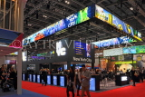 UK, LONDON, ExCel Centre, World Travel Market show, USA New York stand, UK31254JPL