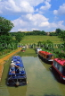 UK, Warwickshire, Napton on the Hill, narrow boats, Oxford Canal, UK5923JPLDVL