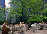 USA, Illinois, CHICAGO, Downtown, outdoor cafe scene, CHI735JPL