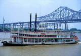 USA, Louisiana, NEW ORLEANS, French Quarter, Natches steamboat, cruising on Mississippi River, LOU264JPL