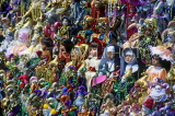 USA, Louisiana, NEW ORLEANS, Masquerade and Mardi Gras dolls, for sale, LOU216JPL