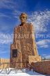 USA, Wyoming, Albanay County, Abraham Lincoln statue, US4023JPL
