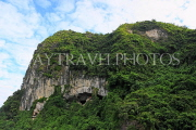VIETNAM, Halong Bay, Bo Hon Island, Sung Sot Caves, entrance, lookout point, VT1918JPL