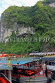 VIETNAM, Halong Bay, Bo Hon Island, Sung Sot Caves, entrance, lookout point, VT1919JPL