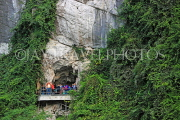 VIETNAM, Halong Bay, Bo Hon Island, Sung Sot Caves, entrance, lookout point, VT1920JPL