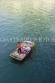 VIETNAM, Halong Bay, boat vendor with snacks for selling to cruise boat tourists, VT1887JPL