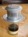 VIETNAM, Hanoi, traditional Vietnamese coffee served at cafes, VT523JPL