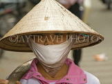 VIETNAM, Hanoi, vendor with conical hat and VT593JPL