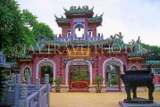 VIETNAM, Hoi An, Phuc Kien Chinese Assemly Hall (world heritage site), VT354JPL