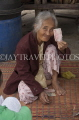 VIETNAM, Hoi An, elderly woman, posing for photo, VT2298JPL
