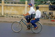 VIETNAM, Hoi An, school boys on bicycle, VT691JPL