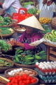 VIETNAM, Hoi An, vegetable market and vendor, VT515JPL