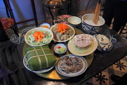 Vietnam, HANOI, Tet (New Year) traditional feast on meal tray, VT865JPL