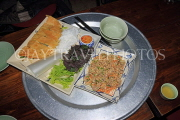 Vietnam, HANOI, traditional Hanoi food served on a meal tray, VT1106JPL